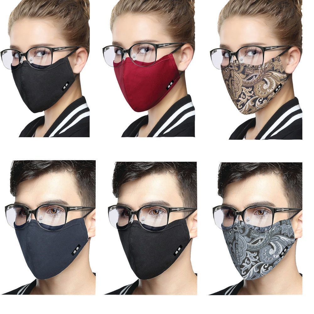 1 Piece KN95 Cotton Mouth Mask Flu Face Mouth Anti Dust