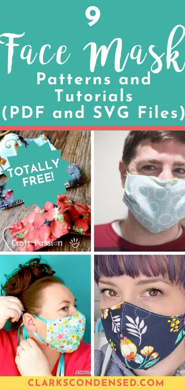 11 Free Face Mask Patterns And Tutorials And Where To