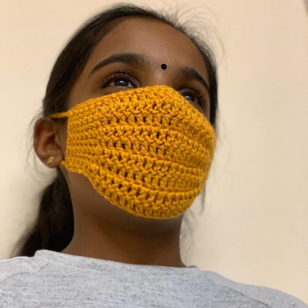 16 DIY Free Crochet Face Mask Ideas And Designs
