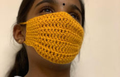 Crochet Surgical Face Mask Pattern Free