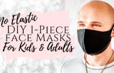3 Minute DIY Neoprene FaceMask How To Make A Face Mask