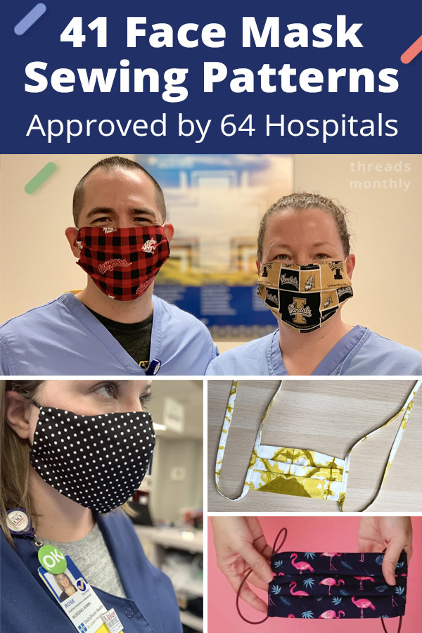 41 Printable Olson Pleated Face Mask Patterns By Hospitals