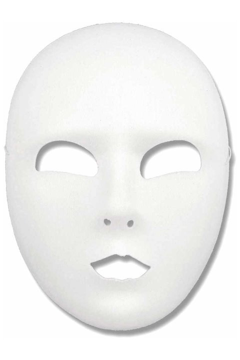 5 Best Images Of Blank Face Printable Mask Template Full