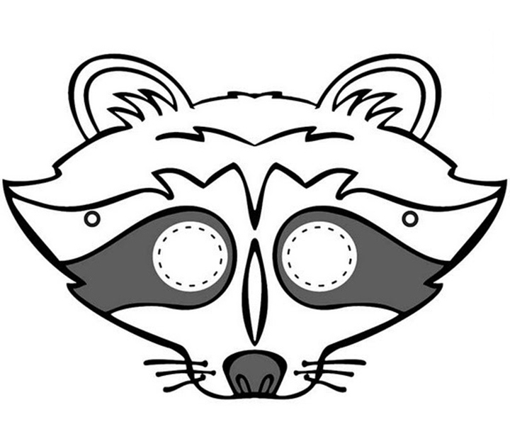 64 Free Kids Face Masks Templates For Halloween To Print