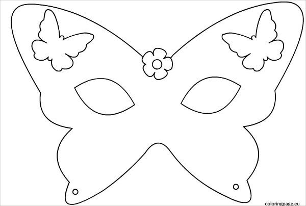 7 Printable Mask Template Free Sample Example Format