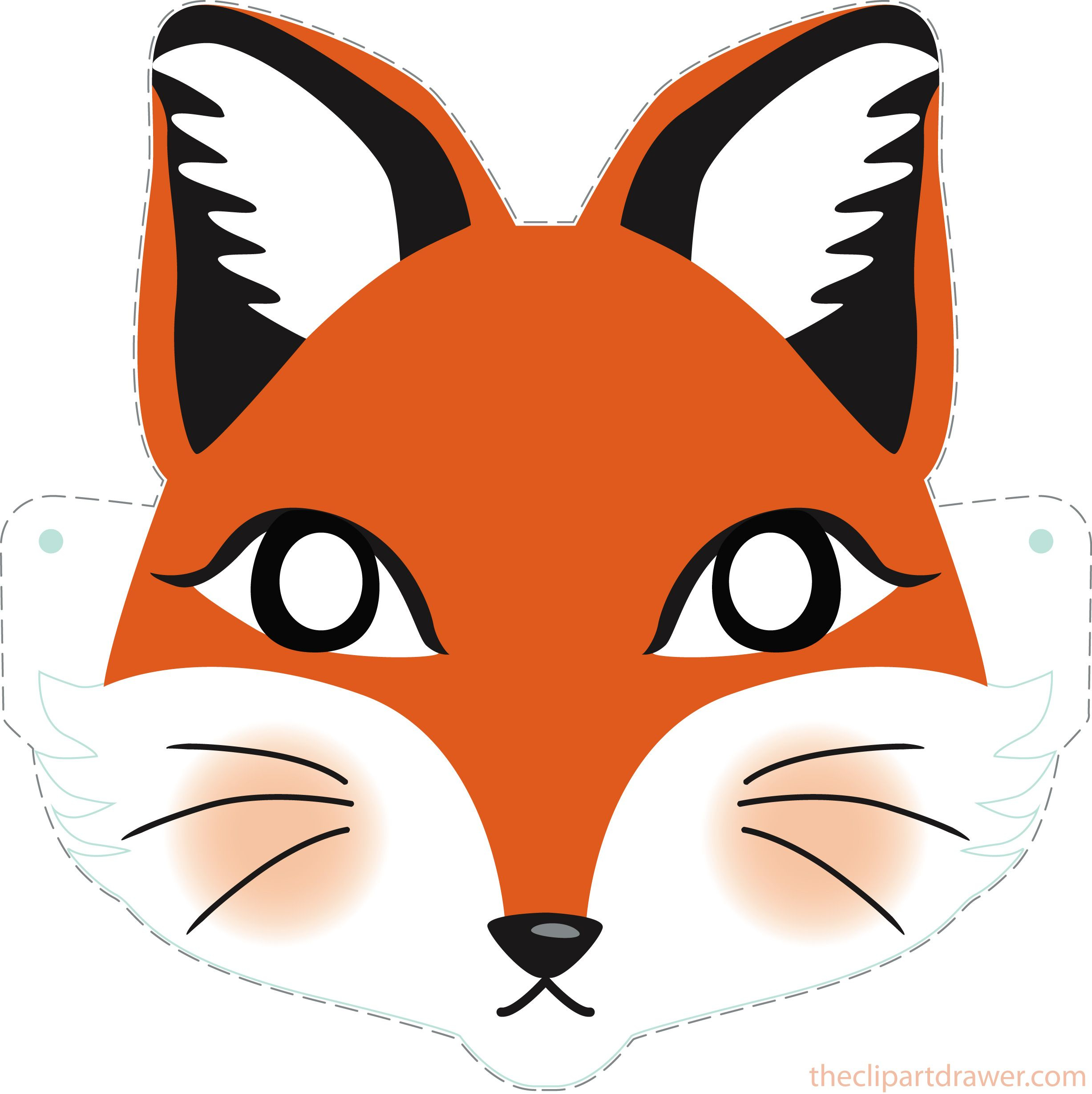 Animal Mask Clipart At GetDrawings Free Download