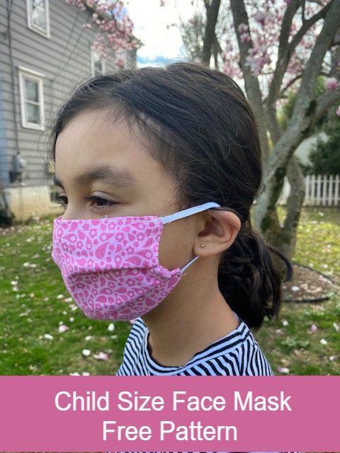 Child Size Face Mask The Stitching Scientist