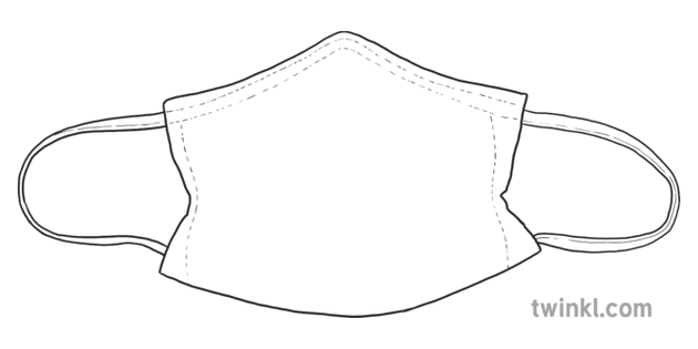 Design Your Own Face Mask Template Inanimate Object
