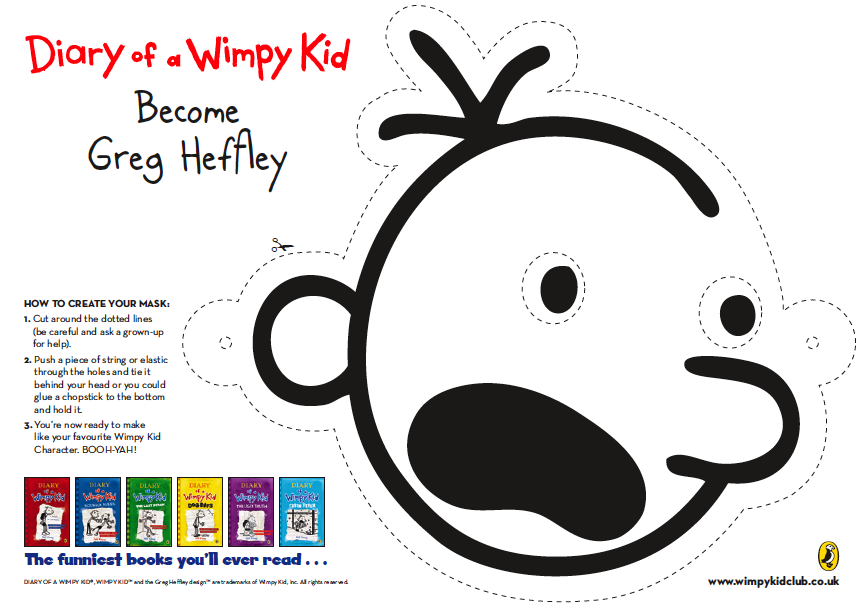 Diary Of A Wimpy Kid Resources Printables Wimpy Kid