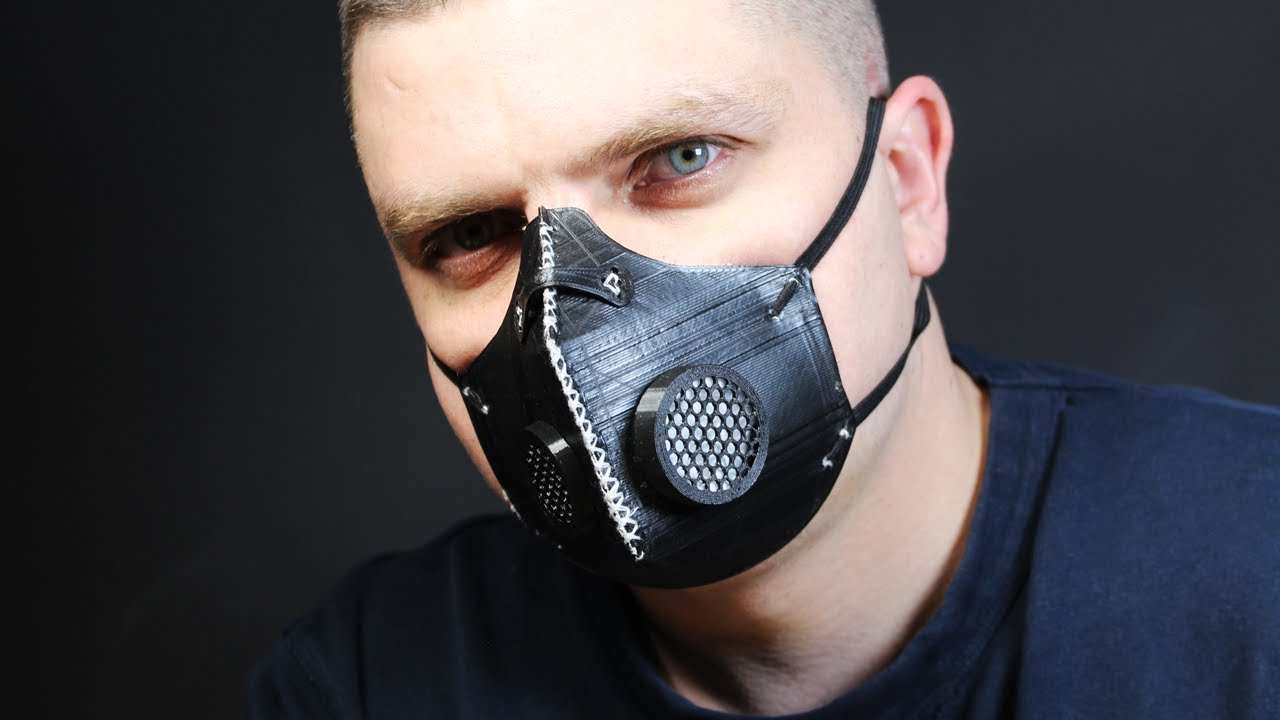 DIY Face Mask 3D Print On Cloth Challenge YouTube