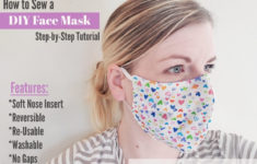 Download A Printable Face Mask Tutorial Here