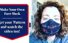 Printable Face Mask Pattern Youtube