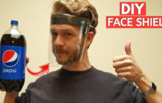 Face Mask With Shield Diy
