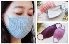 Free Printable Crochet Pattern For Face Mask