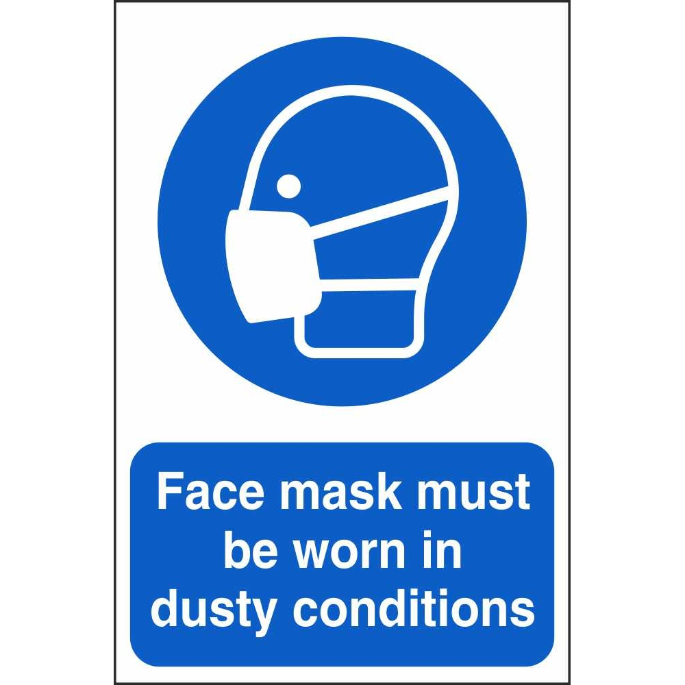 Face Mask Must Be Worn Signs Mandatory Workplace Safety