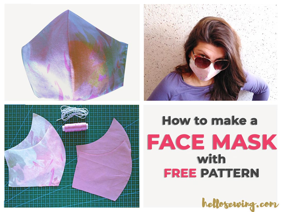 Face Mask Pattern FREE How To Make Diy Mouth Mask