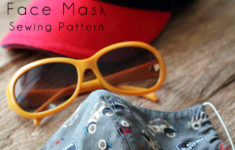 Craft Passion Face Mask Sewing Pattern