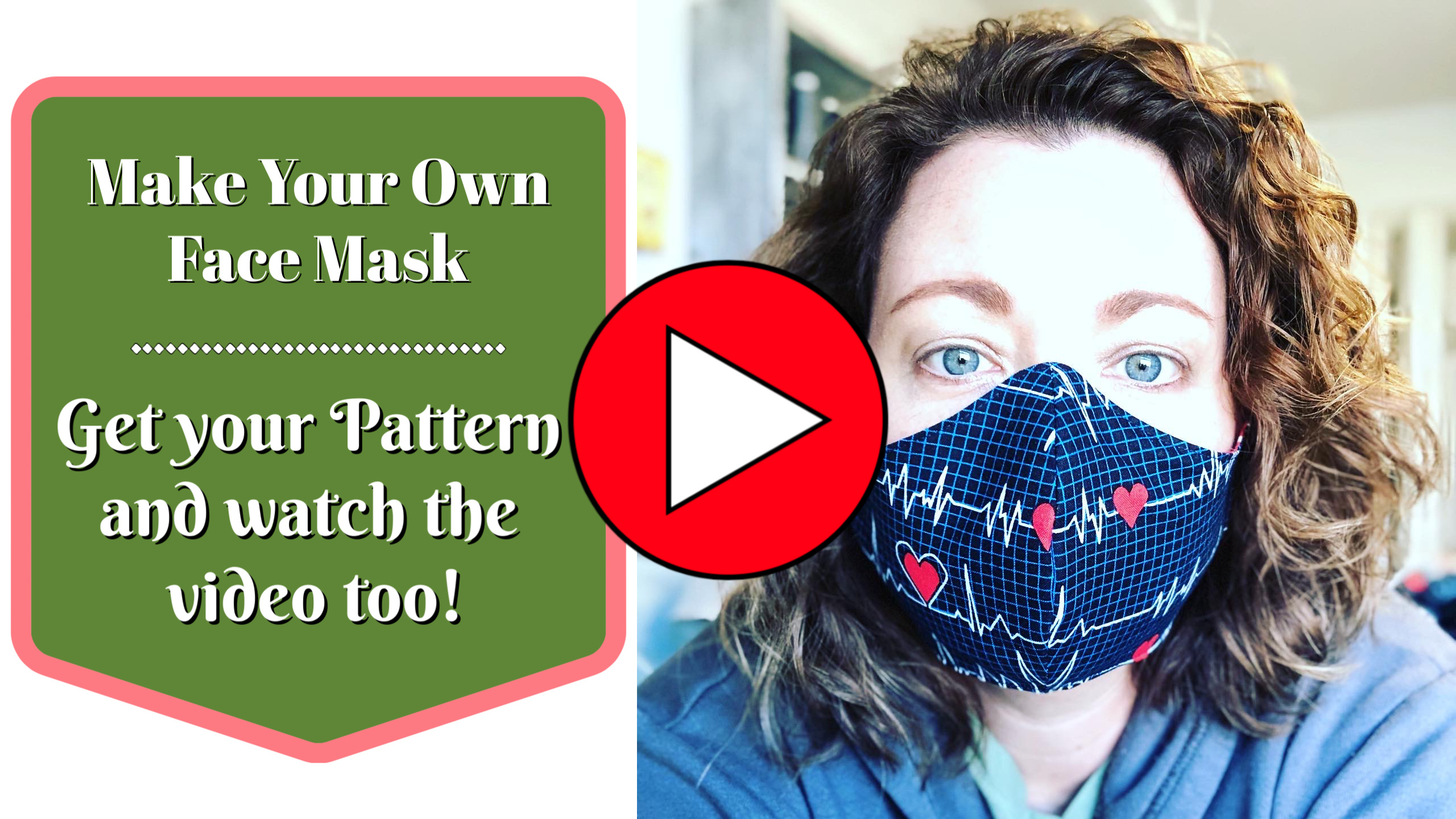 Face Mask Pattern PDF Sew Much Moore