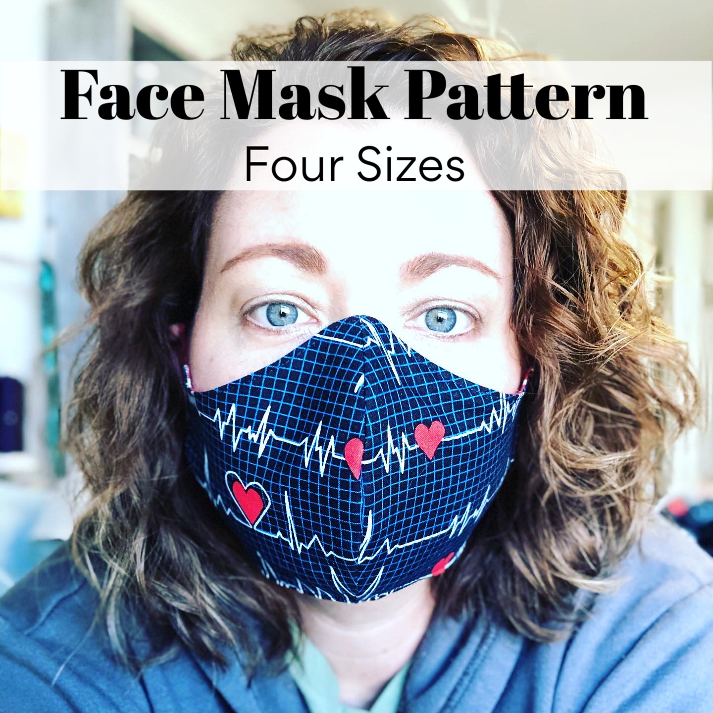 Face Mask Pattern Sew Much Moore