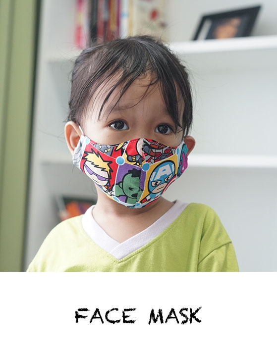 Face Mask PDF Pattern by Haurra Sewing Shambijoux