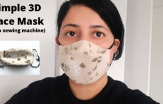 Printable Face Mask Pattern 3d