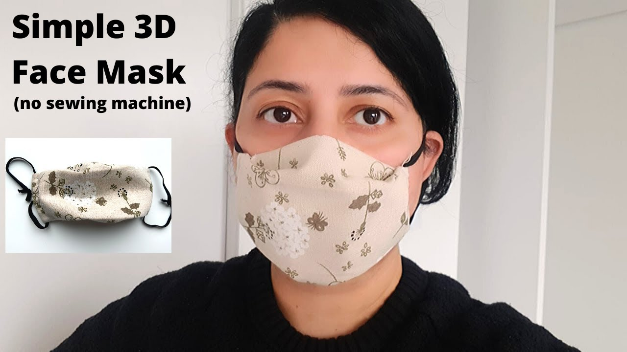 FACE MASK SEWING TUTORIAL How To Make A Cloth Face Mask