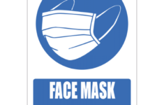 Printable Face Mask Must Be Worn To Enter Sign
