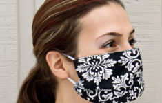 Printable Face Germ Mask Template