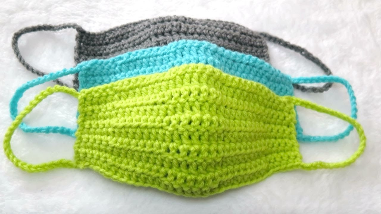 How To Crochet A Quick And Easy Face Mask Face Warmer