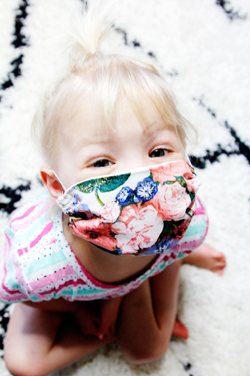 How To Make A Face Mask For Kids FREE PATTERN See Kate Sew