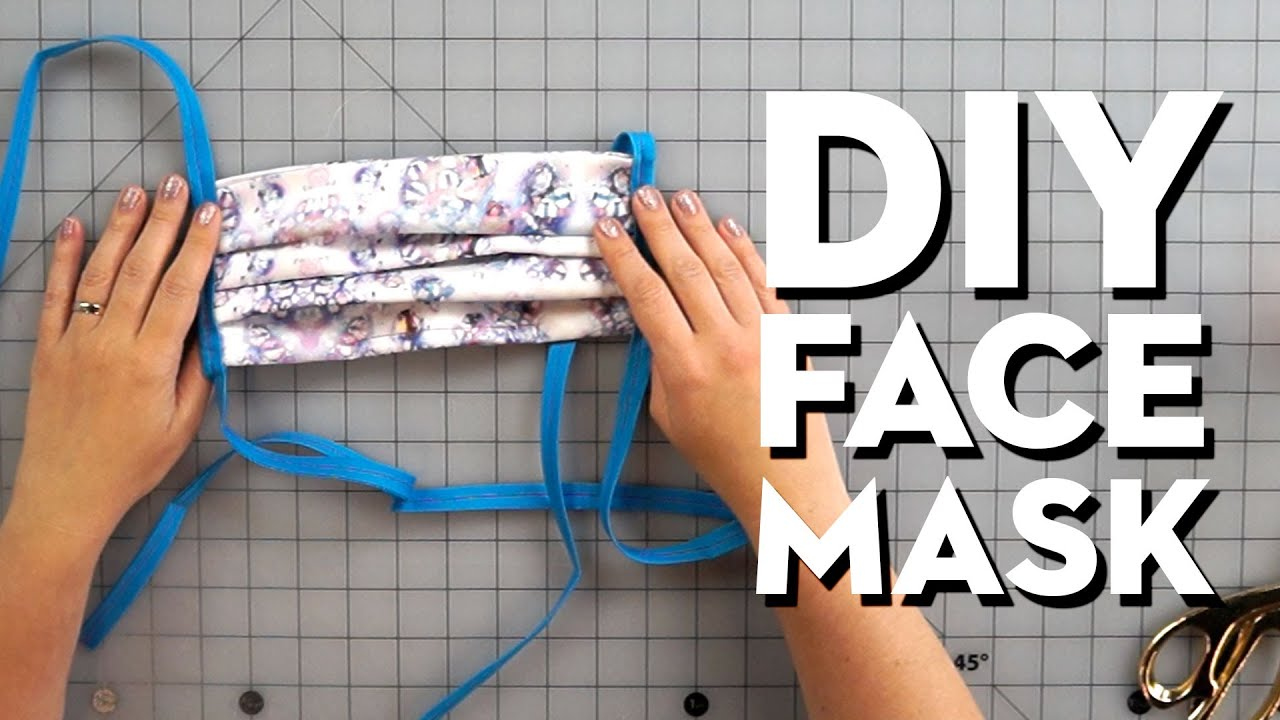 How To Make DIY Face Masks To Donate To Healthcare Workers