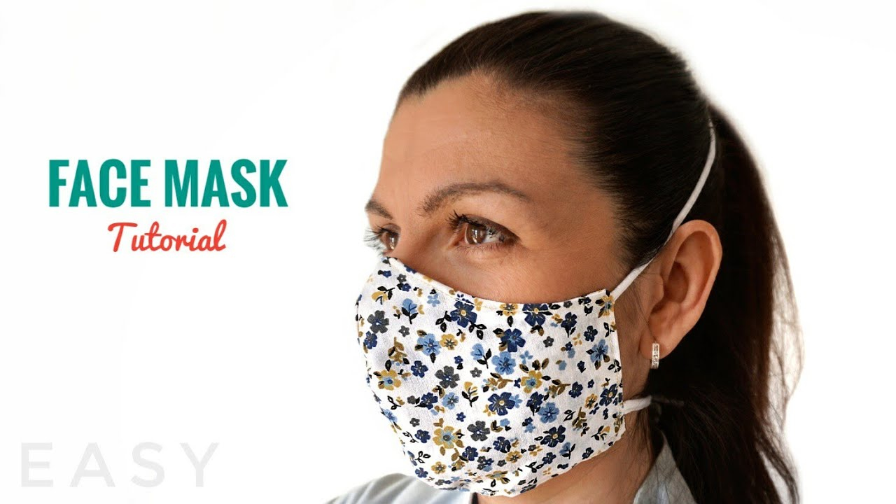 How To Make FACE MASK Face Mask Sewing Tutorial FREE
