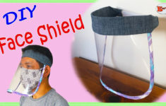 HOW TO MAKE FACE SHIELD MASK DIY FACE SHIELD MASK FACE