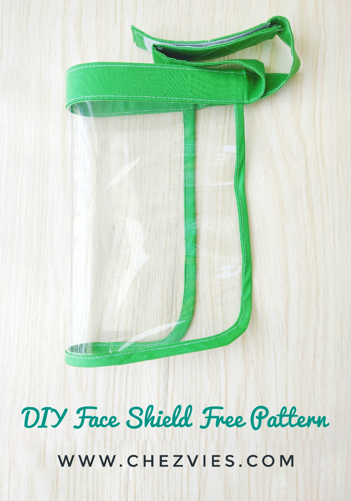 How To Make Face Shield Or Face Guard Free Pdf Pattern