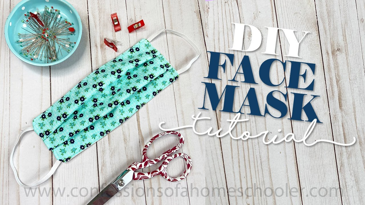 How To SEW A Medical FACE MASK TUTORIAL YouTube