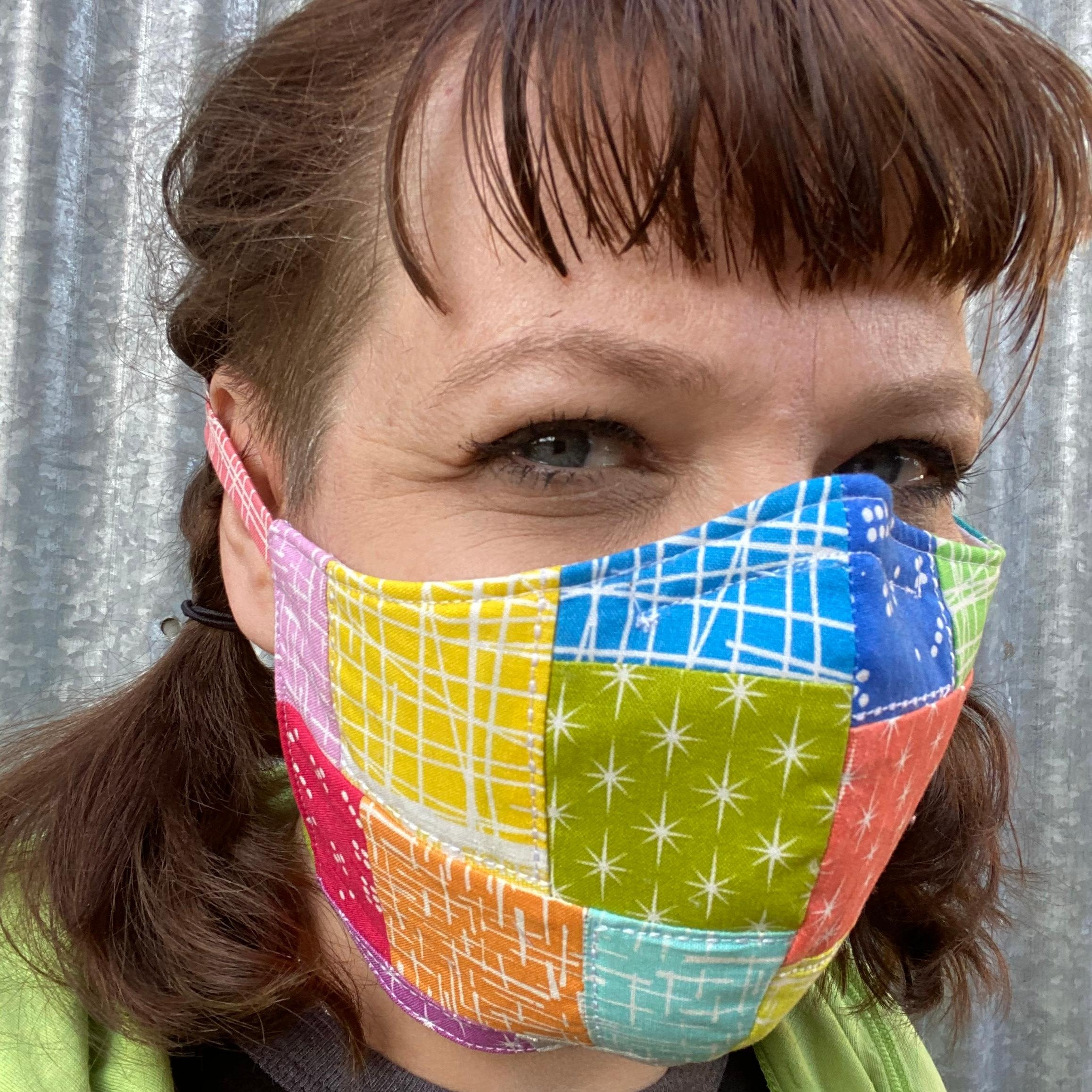 How To Sew A Protective Face Mask Pattern COVID 19