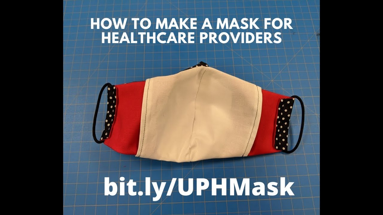 Instructional Video For Sewing The Olson Mask COVID 19