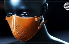 Printable Leather Face Mask Pattern