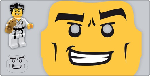 Lego Minifigure Printable Mask For Photo Booth Tip Junkie
