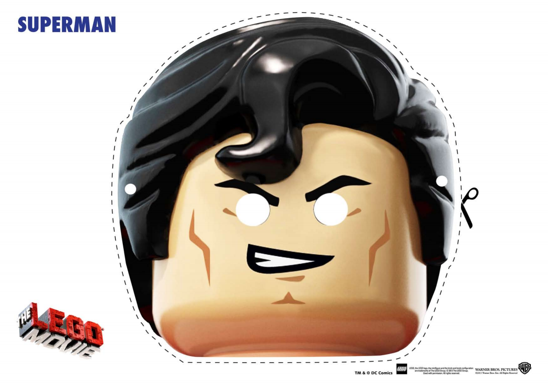 Lego Movie Free Printable Masks Oh My Fiesta In English