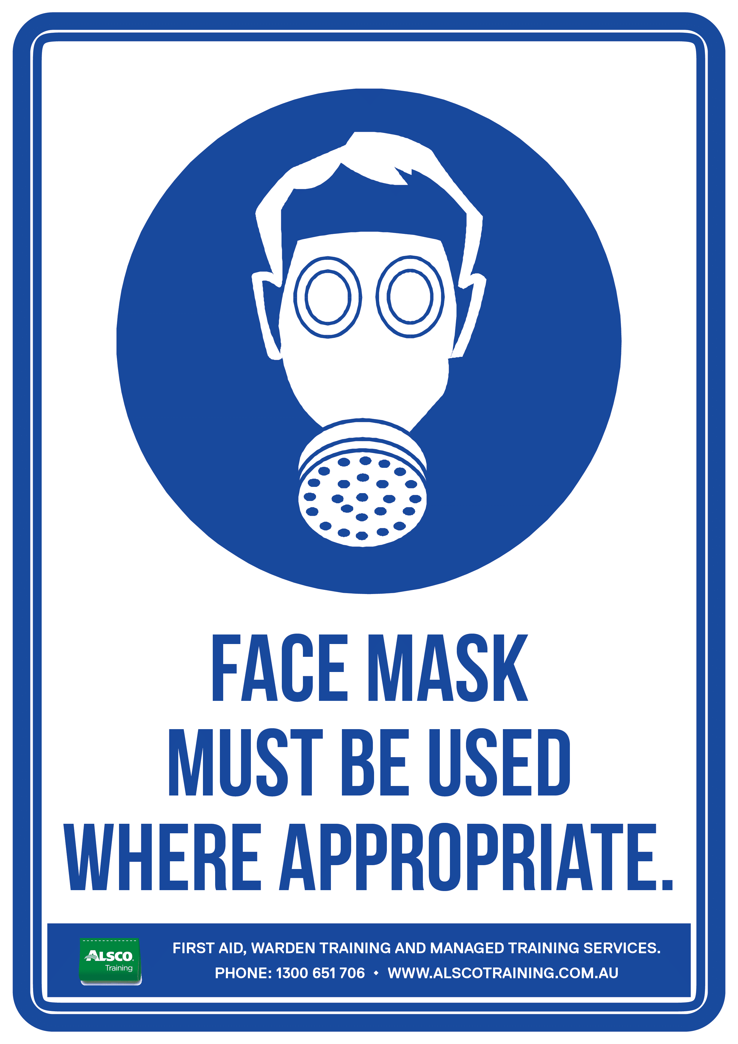 Mandatory Sign Posters Free Download Alsco Training