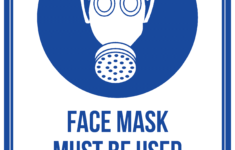 Printable Face Mask Sign