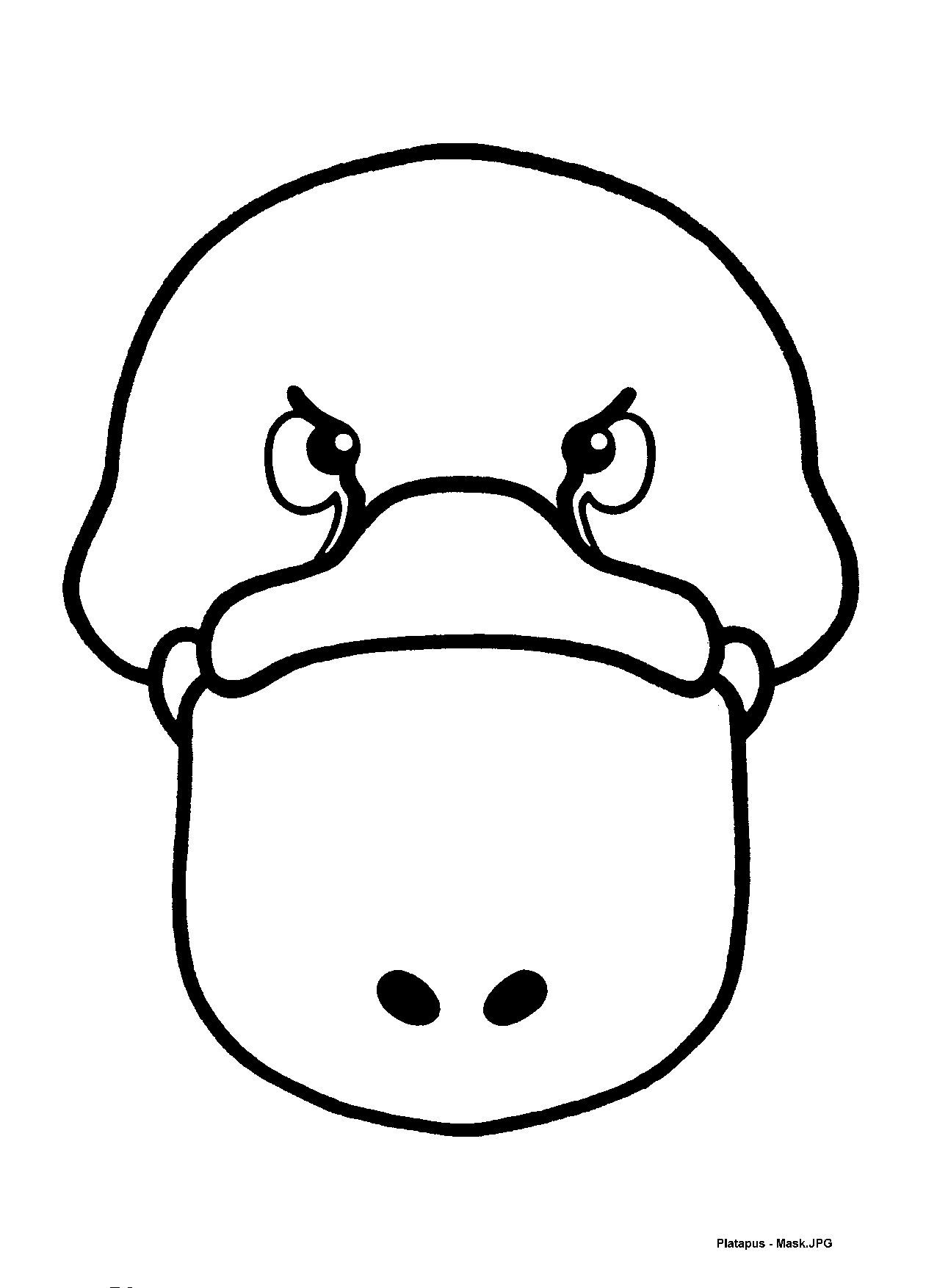 Mask Templates For Australian Other Animals Animal