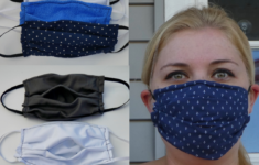 Printable Face Mask With Filter Pocket Pattern
