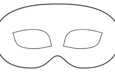 Face Mask Cut Out Printable