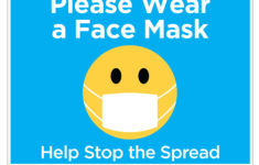 Please Wear A Mask Sign Printable