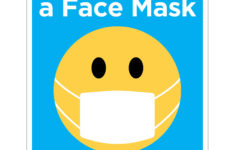 Printable Face Mask Poster