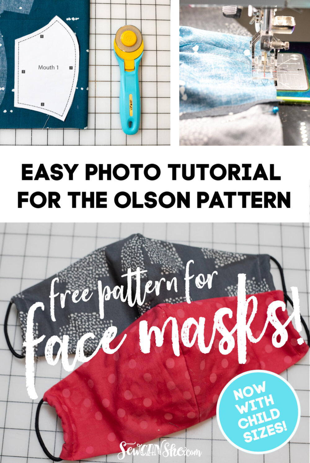 Simple Step By Step Tutorial For The Olson Face Mask