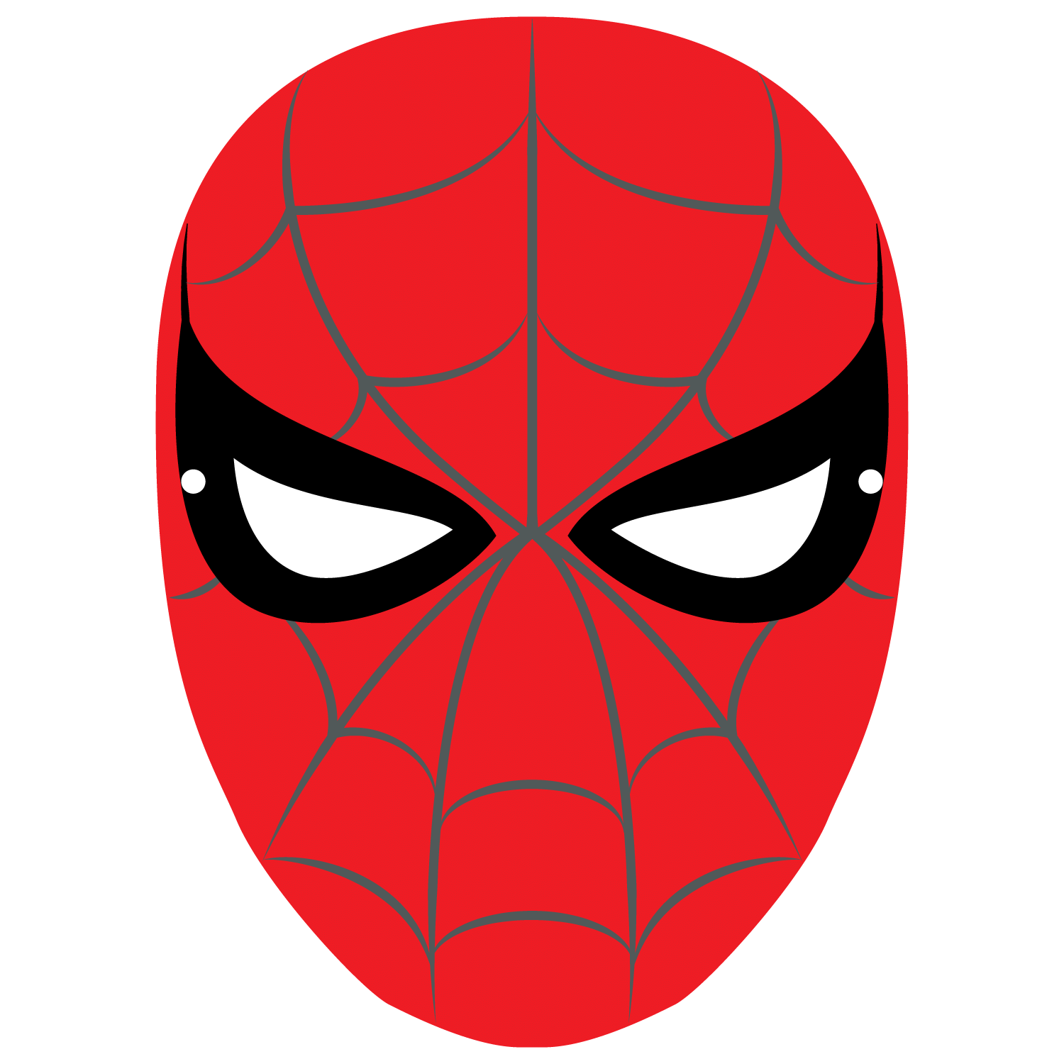 Spiderman Mask Template Free Printable Papercraft Templates