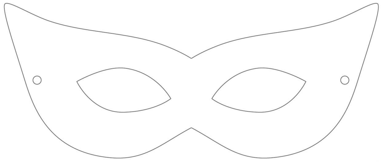 Superhero Mask Template Free Download On ClipArtMag